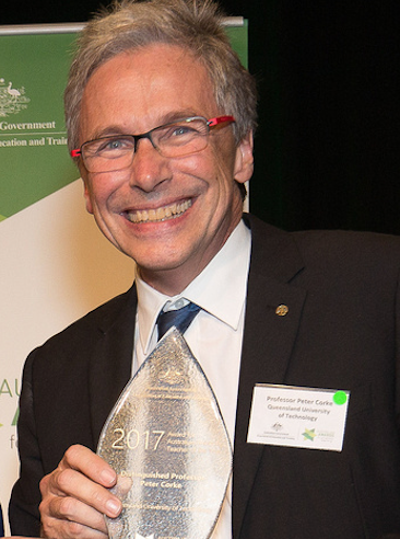 Congratulations to Distinguished Professor Peter Corke
